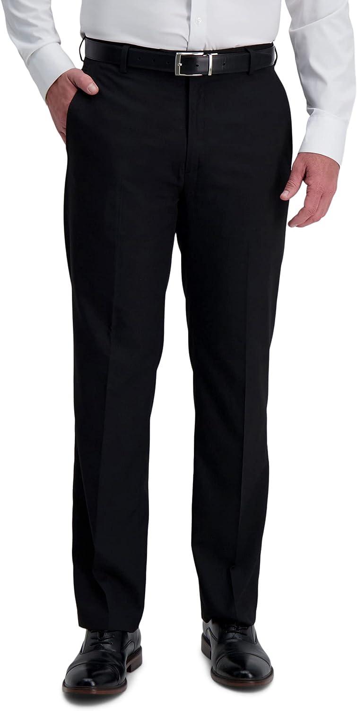 Haggar Men's 1926 Originals Micro Drop Needle Straight Fit Plain Front Suit Separate Pant