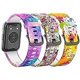 Baaletc Compatible con Huawei Watch Fit,Correa de Silicona Suave Deportiva de Repuesto para Huawei...