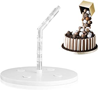 FOONEE Cake Support Structure Can Be Assemble Into 2 Styles, Anti Gravity Cake Decorating Pouring Kit, Easy to Shape Cakes