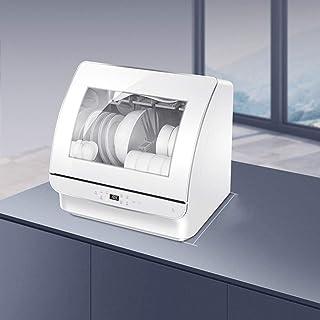 SILENTLY Mini Mesa Lavavajillas, 72 ℃ Alta Temperatura De Esterilización / 360 ° All-Round Limpieza Automática Lavavajillas Doméstico
