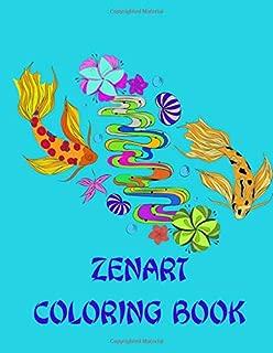 Zenart Coloring Book: Stress Relief Adult Relaxation Coloring Book | Zentangle Art
