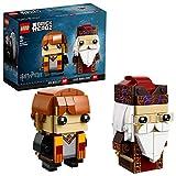 LEGO BrickHeadz- Ron Weasley y Albus Dumbledore (41621)