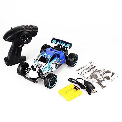Funien Coche de RC, Ky Toys 1881 2.4 GHz 2Wd 1/20 Coche eléctrico Cepillado RTR RC Racing Drift