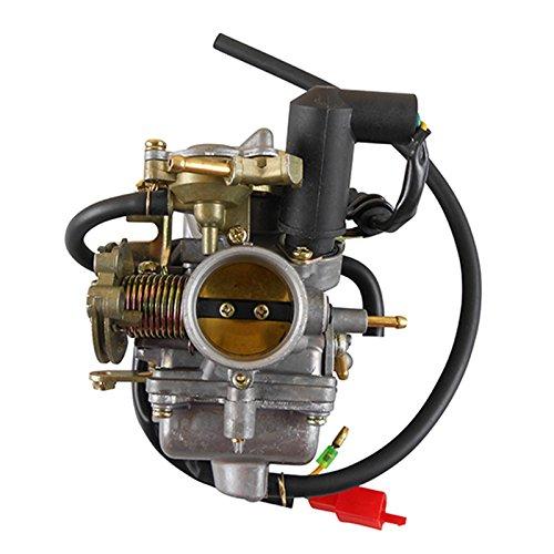 30mm PD30 Carburateur Met 2 Draad Elektrische Choke voor 250cc CF250 Water Gekoeld ATV Quad Scooter Brommer Go Kart