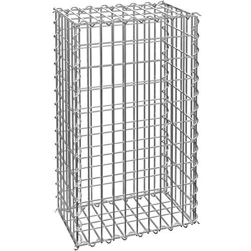 TecTake Muro de contención de Piedra - Gavión | Dimensiones de luz de Malla 5 x 10 cm | Varias tamaños (100x30x50 cm | No. 402780)