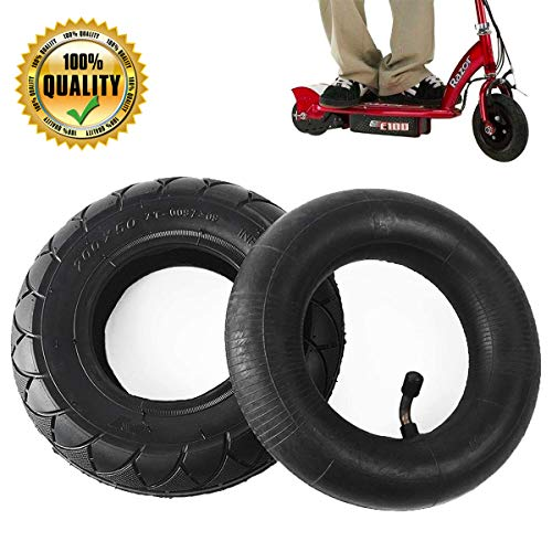 AR-PRO 200X50 Tire & Inner Tube Set - Electric Scooter Tire Tube for Razor E100, E150, E200, Power Core E100, Dune Buggy, ePunk, Crazy Cart, PowerRider 360, eSpark