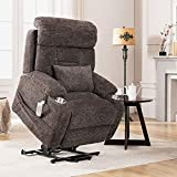 J&L Furniture Power Lift Chair with Three OKIN Motor Electric Lift...