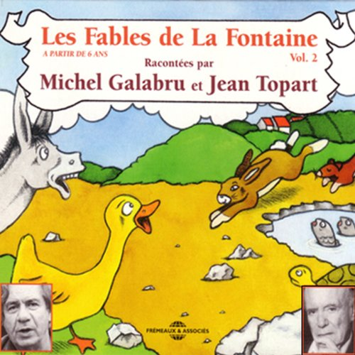 Les Fables de La Fontaine Vol. 2 audiobook cover art