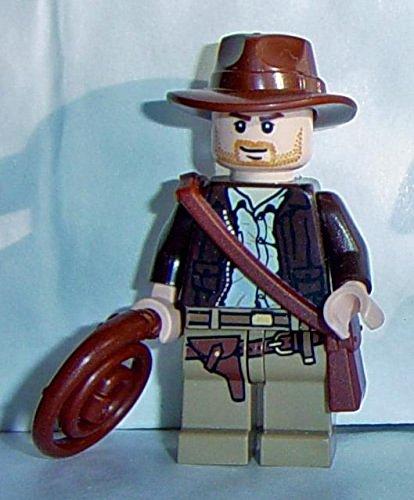 LEGO Indiana Jones: Indiana Jones mit Peitsche und Tasche