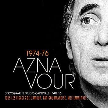 Vol. 15 - 1974/76 Discographie studio originale