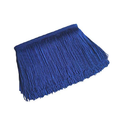 Yalulu 10 metros de longitud 10 cm de ancho borla de seda flecos cortados flecos costura disfraz borla recortar Apparel franja banda costura accesorios