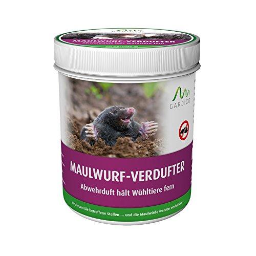 Gardigo Maulwurf-Verdufter 300 g Granulat, Maulwurf-Stopp, Maulwurfabwehr, Maulwurfschreck