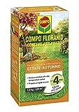 COMPO FLORANID Concime per Prato, Per un Prato Verde e Fitto anche in Estate e Autunno, 2,5 kg