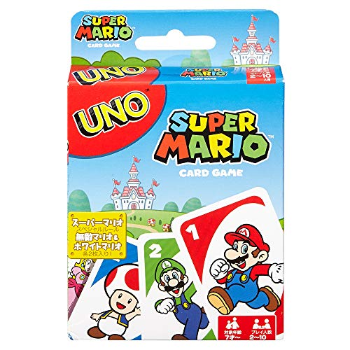 UNO Super Mario Card Game