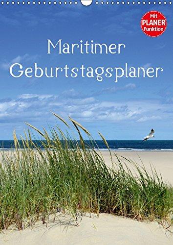 Maritimer Geburtstagsplaner (Wandkalender immerwährend DIN A3 hoch): Nordsee Impressionen - Neue Bilder! (Geburtstagskalender, 14 Seiten) (CALVENDO Natur) [Kalender] [Mar 20, 2016] Herppich, Susanne