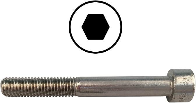 Zylinderschrauben M6 X 60 DIN 912 mit Innensechskant 2 St/ück ISK Edelstahl A2 - V2A Zylinderkopfschrauben