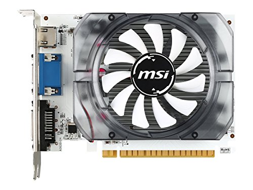 MSI N730-2GD3V3 GeForce GT 730 2 GB GDDR3 - Grafikkarten (GeForce GT 730, 2 GB, GDDR3, 128 Bit, 4096 x 2160 Pixel, PCI Express x16 2.0)