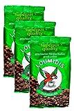 Griechischer Mokka Kaffee Loumidis, Sparpaket (3 x 196 g)