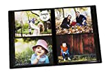 Portfolio Photo Album Holds 200 Pictures - 5x7 Inch/Space Saver Album with Protective Poly Case