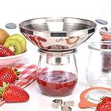 Edelstahl - Trichter Einfüllhilfe Einmachhilfe Einmachtrichter Einmachen Abfüllen Marmelade