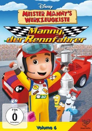 Meister Manny's Werkzeugkiste, Vol. 6 - Manny, der Rennfahrer