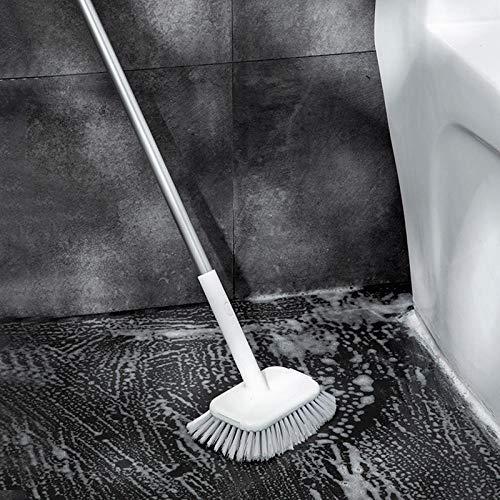 Kwaliteit lange handvat reinigingsborstel stijve tegel badkamer wc vloer borstel voor tegels vloertegels houten vloeren badkuipen