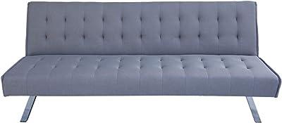 Divano letto 3 posti in tessuto, Dimensioni divano: 180 * 92 * 79, Spessore del materasso 15cm, disponibile in diversi colori Dimensioni letto: 180 * 108 * 38 (Corda)