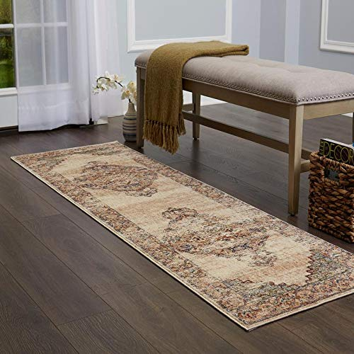 Home Dynamix Nicole Miller Casey Silla Area Rug 3x5 Solid Ivory