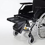 AYUDAS DINAMICAS–Fußstütze links Amputationen, Recht (Rollstuhl Caneo) -