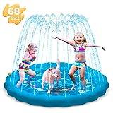 KOROSTRO Splash Pad, Spielzeug Sprinkler Play Matte, 170cm Sommer Garten Wasserspielzeug für...