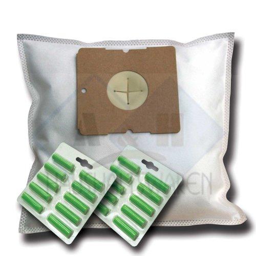 20 Staubsaugerbeutel + 20 Duftstäbe geeignet für AEG Berry AB 3450, 3455, 3465, 3468, 3475