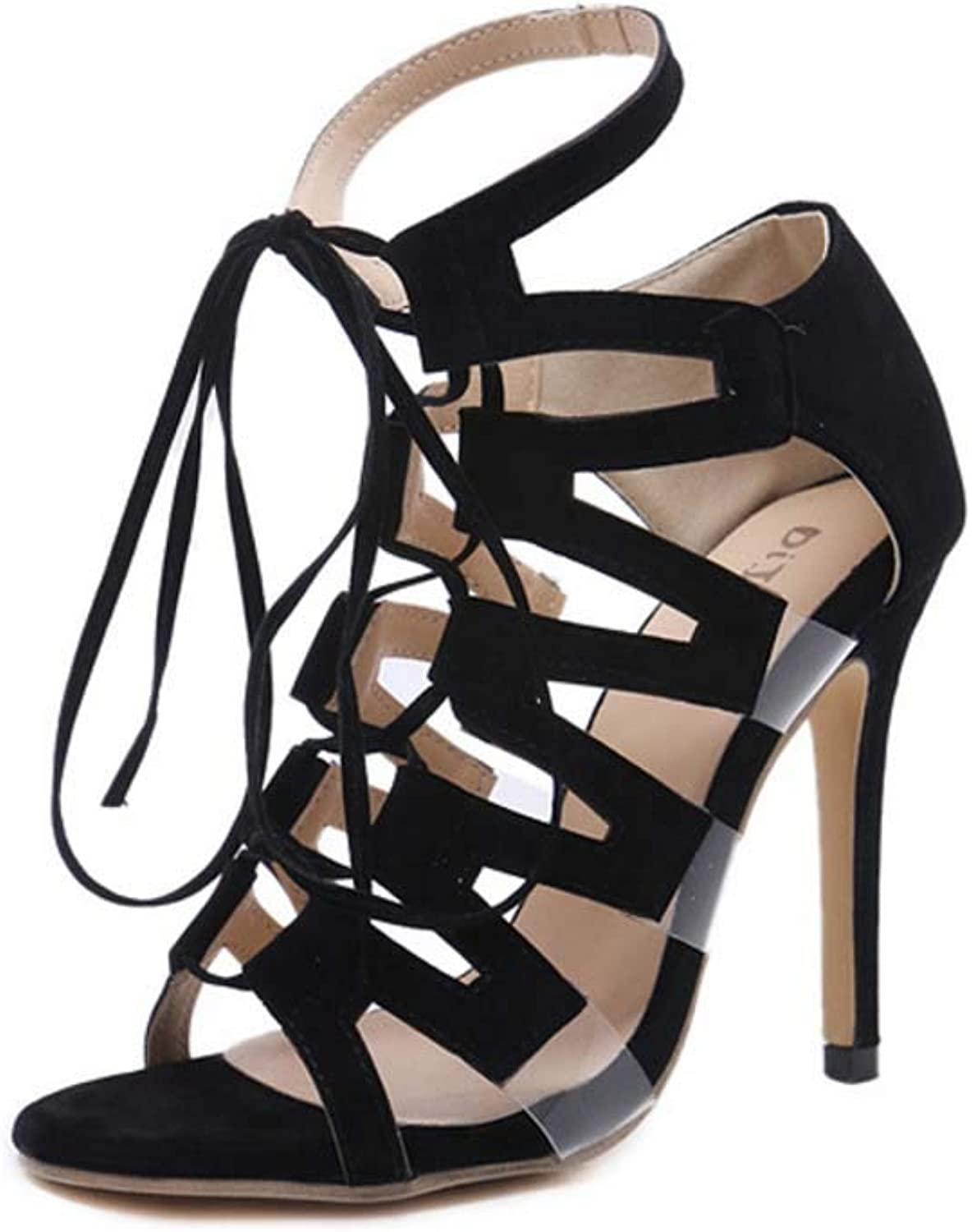 Women Cone Heel shoes,Ladies Summer Ankle Strap Sandals,Wedding,Party,Evening
