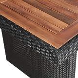 IMG-1 vidaxl legno massello e polyrattan
