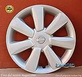 Generico Nissan MICRA - Quattro (4) COPRICERCHI Borchie Diametro 14' CODICE 6505/4 - Compatibile con Auto dal 2010 - Prodotto Nuovo