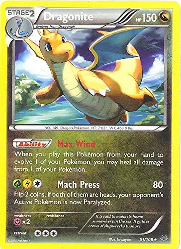 Pokemon - Dragonite (51/108) - XY Roaring Skies