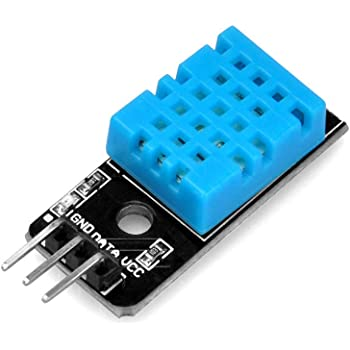 Robocraze DHT11 Module Temperature and Humidity sensor Module for boards compatible with Arduino, ARM and other MCU- (Pack of 1)