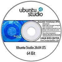 "Ubuntu Studio 20.04 LTS ""Focal Fossa"" (64Bit) - Bootable Linux Installation DVD"