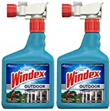 Windex bnm Outdoor Glass & Patio Cleaner, 2 Pack of 32 oz