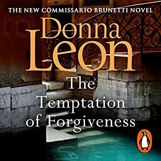 The Temptation of Forgiveness     Commissario Brunetti, Book 27              De :                                                                                                                                 Donna Leon                               Lu par :                                                                                                                                 David Sibley                      Durée : 8 h et 31 min     1 notation     Global 5,0