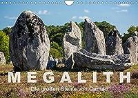 Megalith. Die grossen Steine von Carnac (Wandkalender 2022 DIN A4 quer): Eine Tour zu den Megalithen in Carnac und Umgebung (Monatskalender, 14 Seiten )