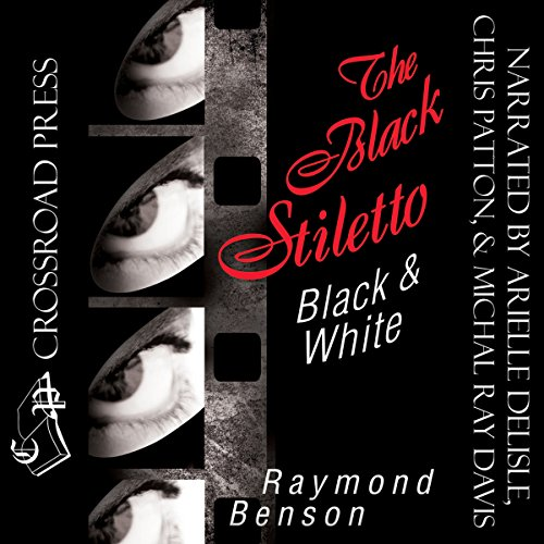 The Black Stiletto: Black & White audiobook cover art