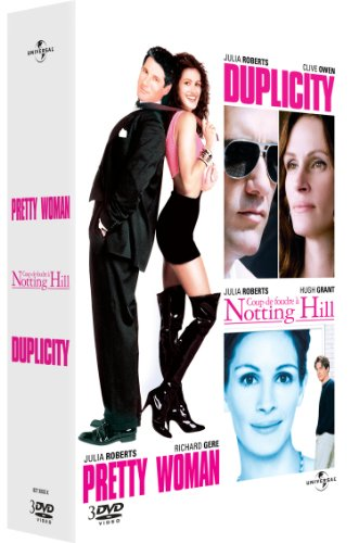 Julia Roberts-Coffret-Coup de Foudre à Notting Hill + Duplicity + Pretty Woman