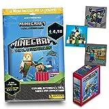 Minecraft Treasure Sticker Album Special Pack [Album + 29 bustine + 6 Card Limited Edition]