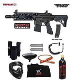 Tippmann TMC MAGFED Private Paintball Gun Package - Black/Black