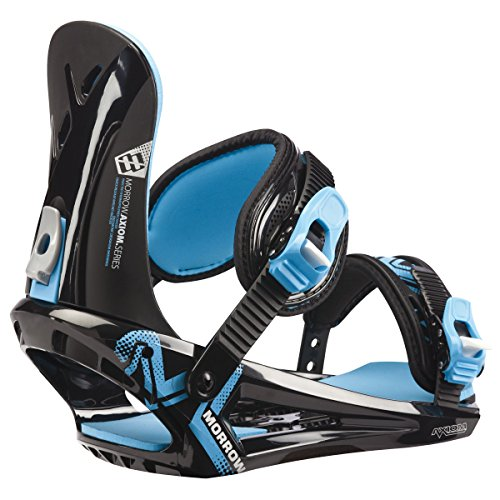 Morrow Snowboardbindung Axiom, Black Blue, L