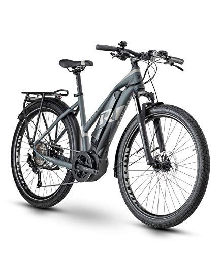 RAYMON Tourray E 6.0 Pedelec E-Bike Trekking bicicleta gris 2020: tamaño: 56 cm