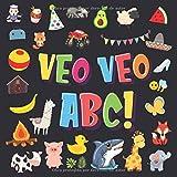 Veo Veo - ABC!: Un Juego de Buscar y Encontrar, ¡Súper Divertido para Niños de 2 a 4 Años!   Juego de Adivinanzas de la A a la Z, con Alfabeto ... Pequeños (Veo Veo Libros para Niños de 2-4)