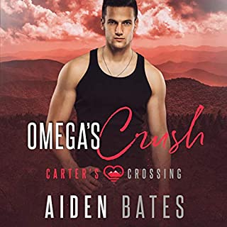 Omega's Crush audiobook cover art