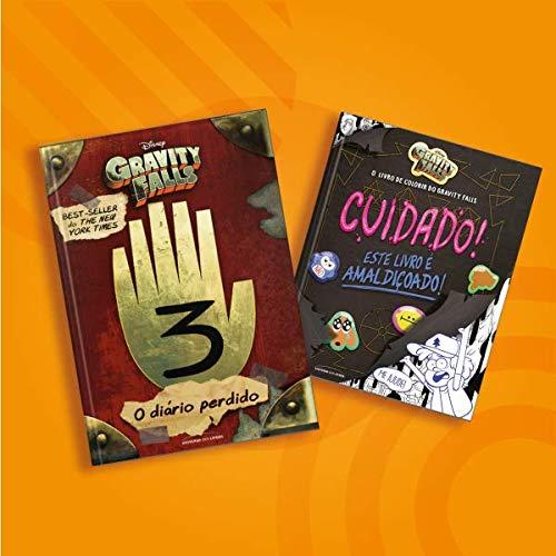 Kit Diário perdido de Gravity Falls + Livro de colorir de Gravity Falls