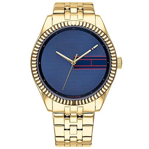 Tommy Hilfiger Reloj Analógico para Mujer de Cuarzo con Correa en Acero Inoxidable 1782081
